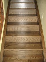 Red Oak with Medium-Brown Bona® Stain